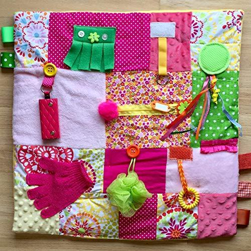 Tactile Quilt Free Shipping Fidget Quilt Sensory Blanket
