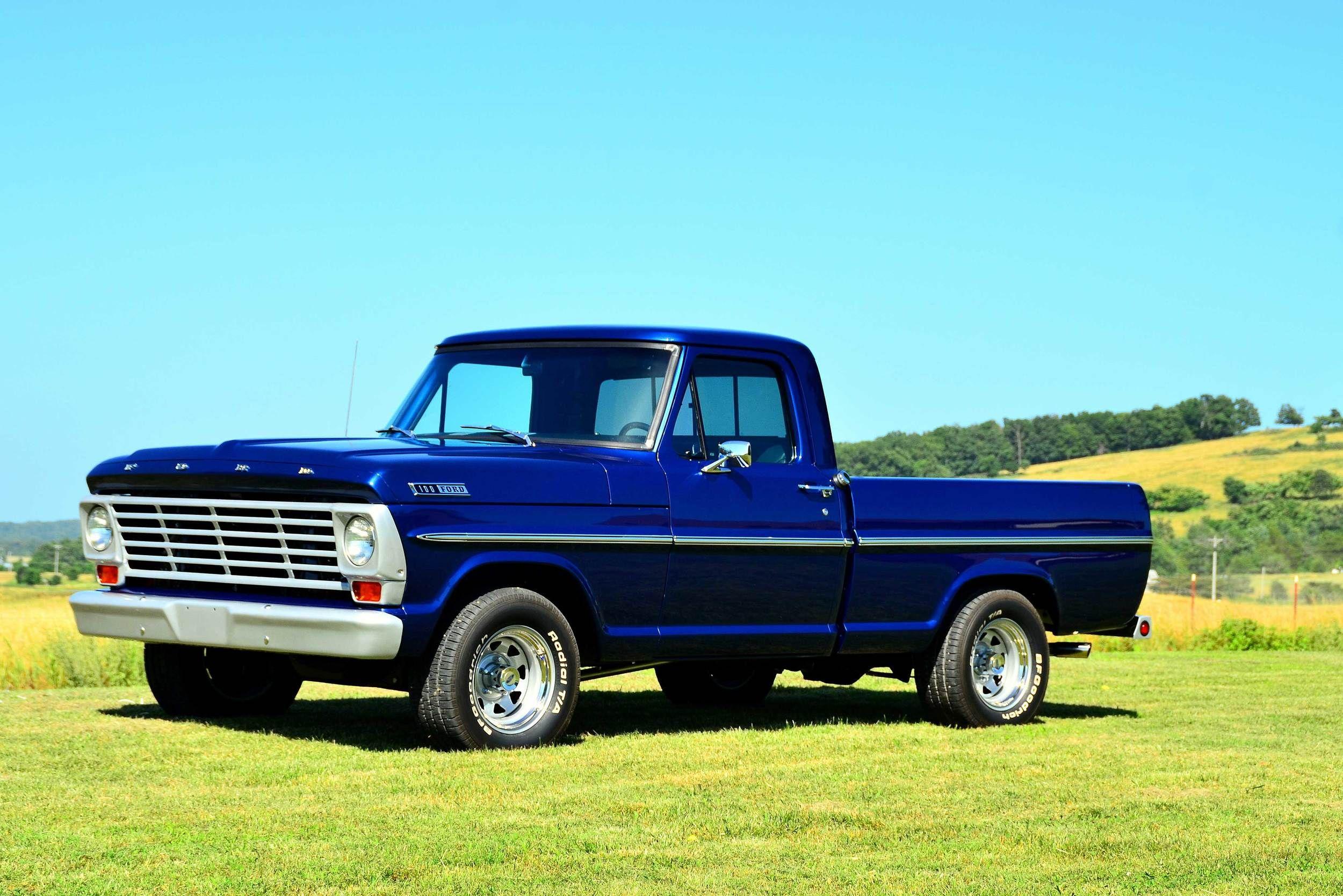 1967 Ford F100 Trucks Pinterest