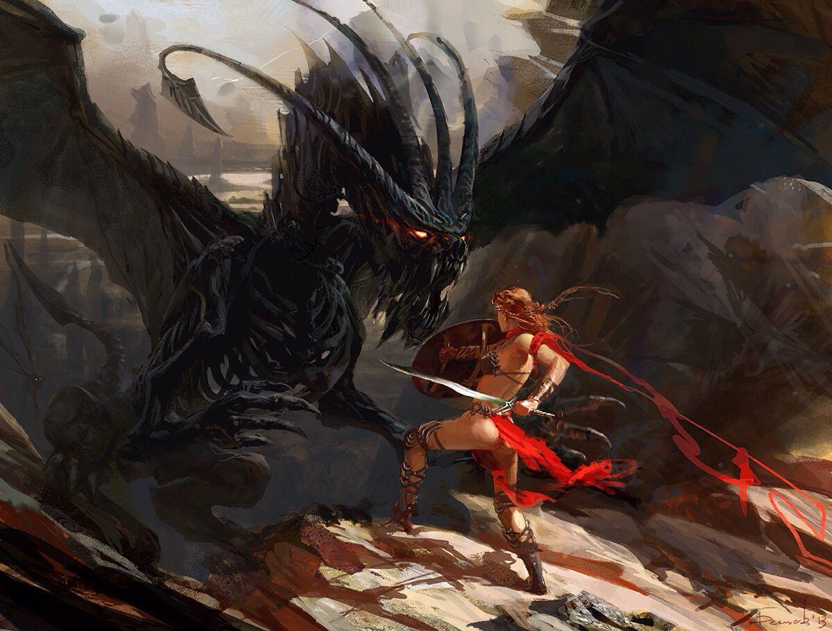 Cazadora de dragones