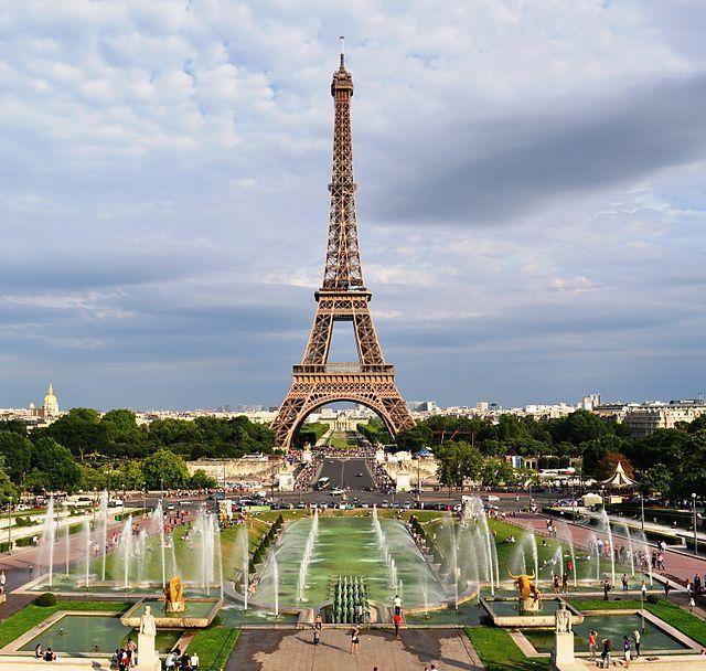 Les Jardins Du Trocadero Paris Et Merveilles Pinterest Tour