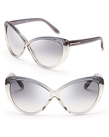 190e774744e05 Tom Ford Madison Cat Eye Sunglasses