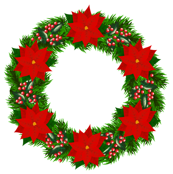 Rossijskij Servis Onlajn Dnevnikov Christmas Drawing Christmas Wreath Clipart Christmas Wreaths