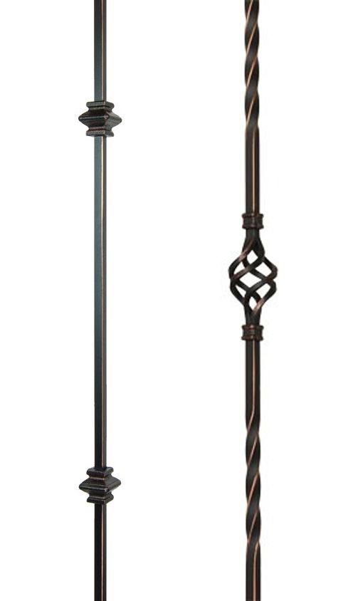 Best Staircase Balusters Double Knuckle Single Basket Pattern 640 x 480