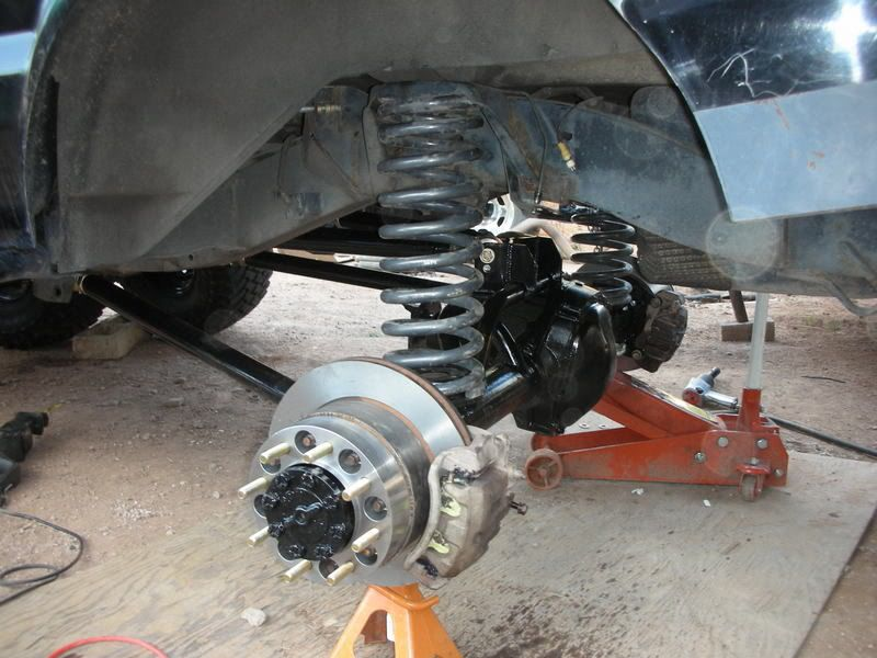 Land Rover Discovery Trail Rig 1 Ton Axles 4 Linked