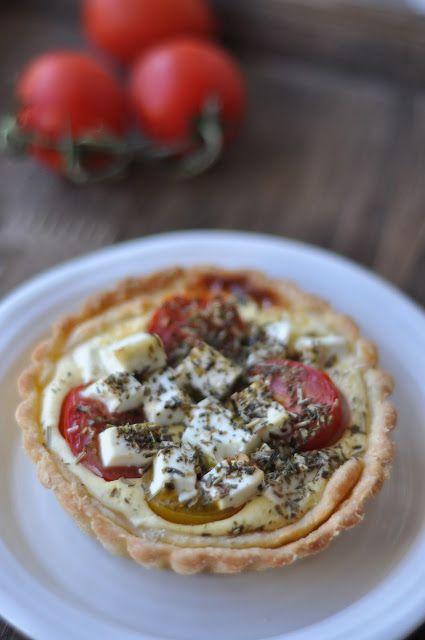 Tomate Feta Tartelettes