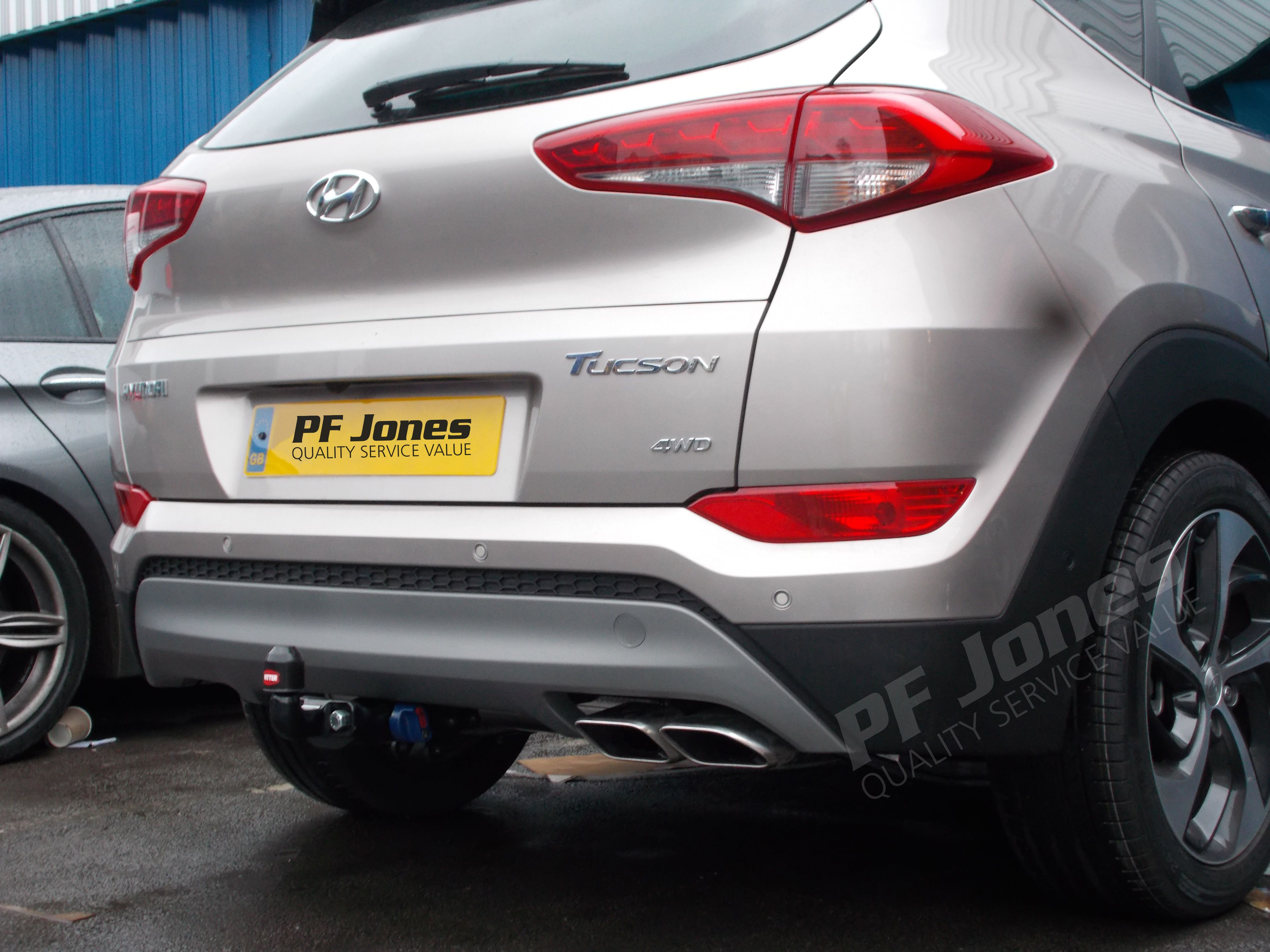 Witter Zx210 Fitted in Bognor to Ford Fiesta Towbars Pinterest