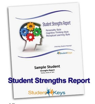 Review PeopleKeys u2013 Student Strengths Report Homeschool - sample student report