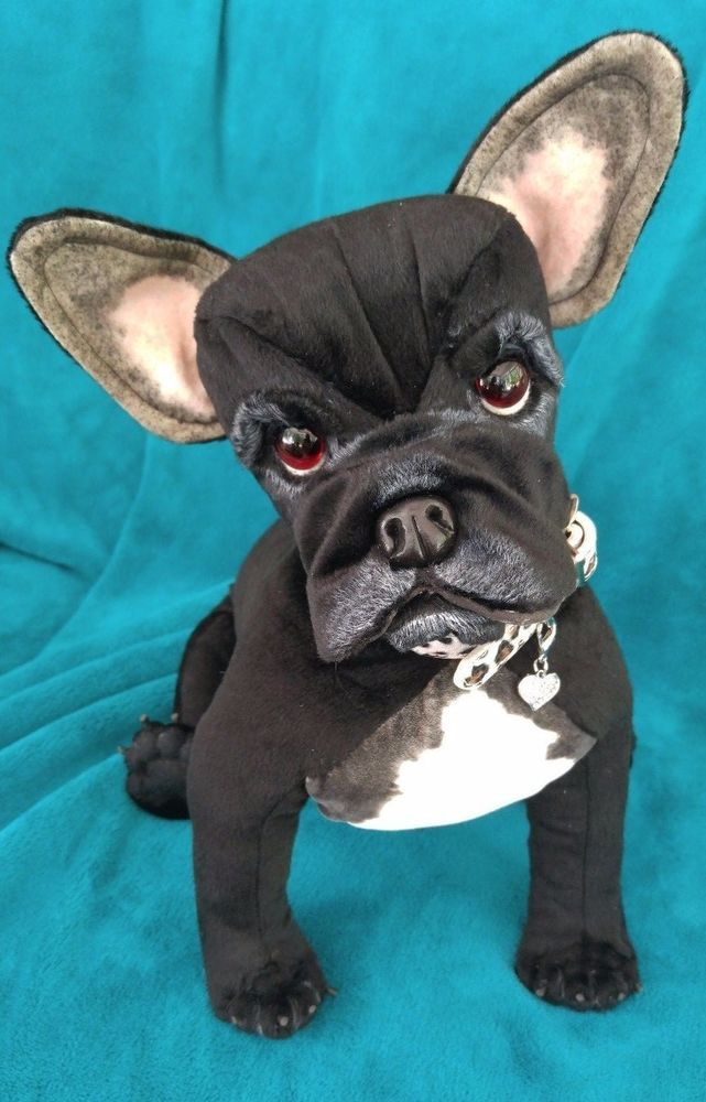 Ooak Life Size 16 Fully Poseable French Bulldog Frenchie Puppy