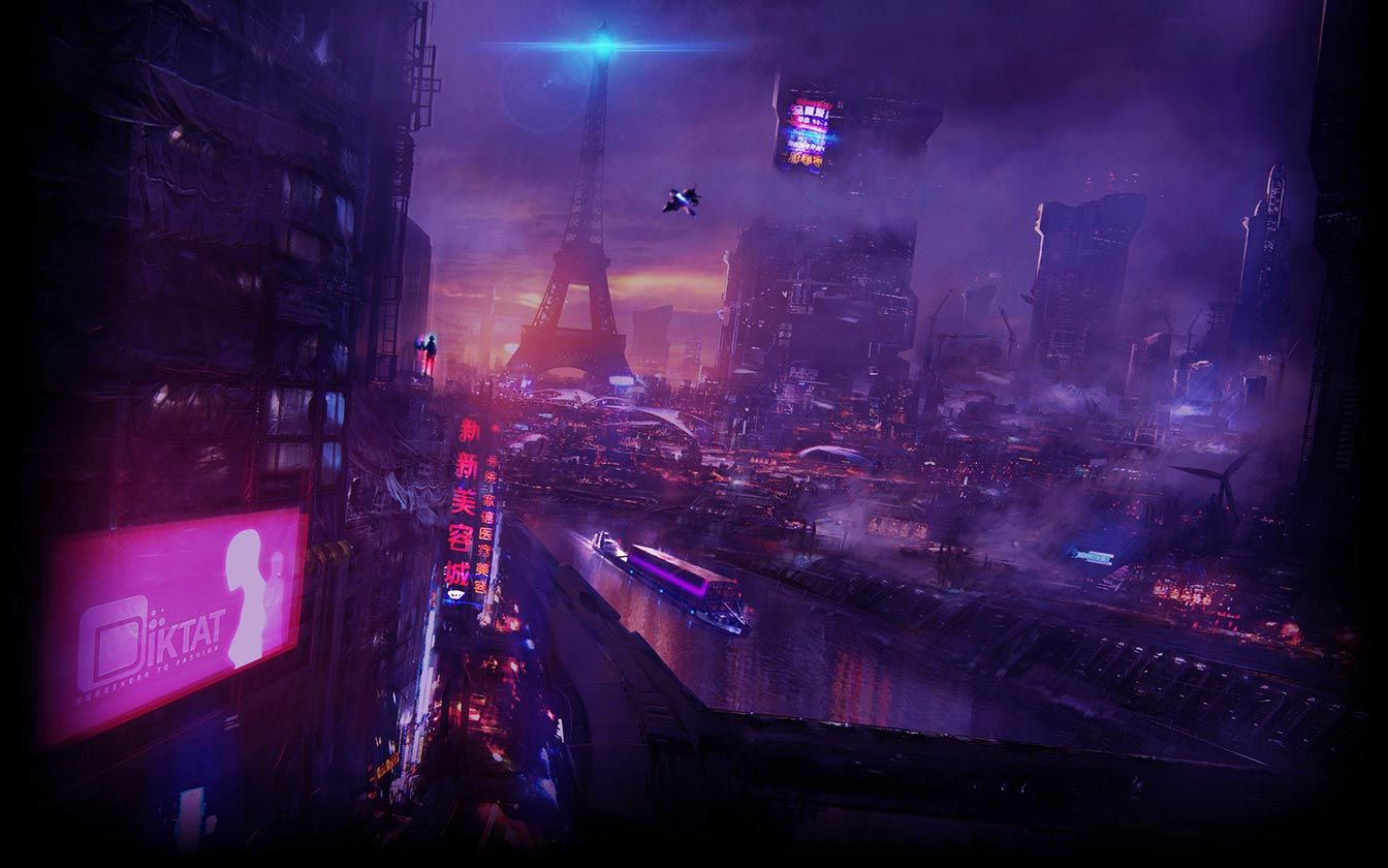 Cyberpunk Neo Paris Live Wallpaper Engine Live Wallpapers Vaporwave Wallpaper Sci Fi Wallpaper