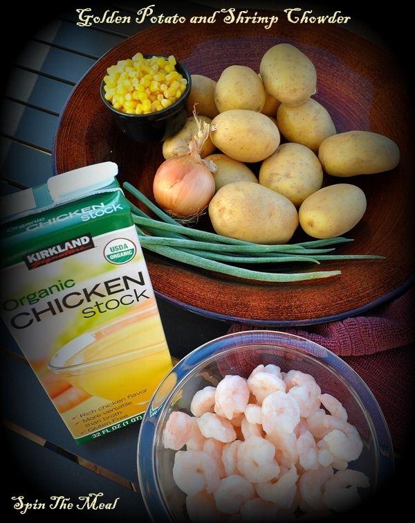 Golden Potato & Shrimp Chowder