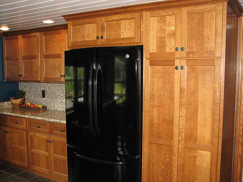 red oak quarter sawn kitchen cabinets - Google Search | kitchen ...