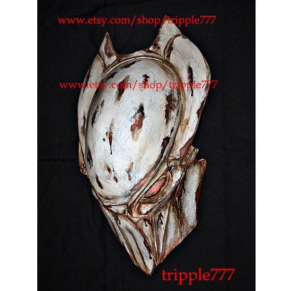 1:1 Full Scale Replica Predator mask, Predator costume, Predator helmet, Home decor, Wall mask, Halloween mask, Steampunk mask AVP PD8