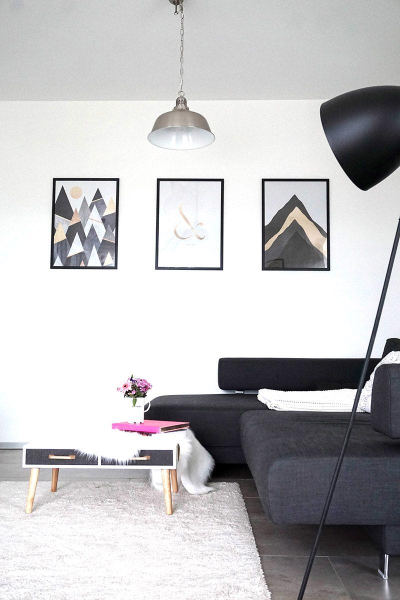 Wohnen In Schwarz Weiss Dekotipps Interiors Salons And Apartments