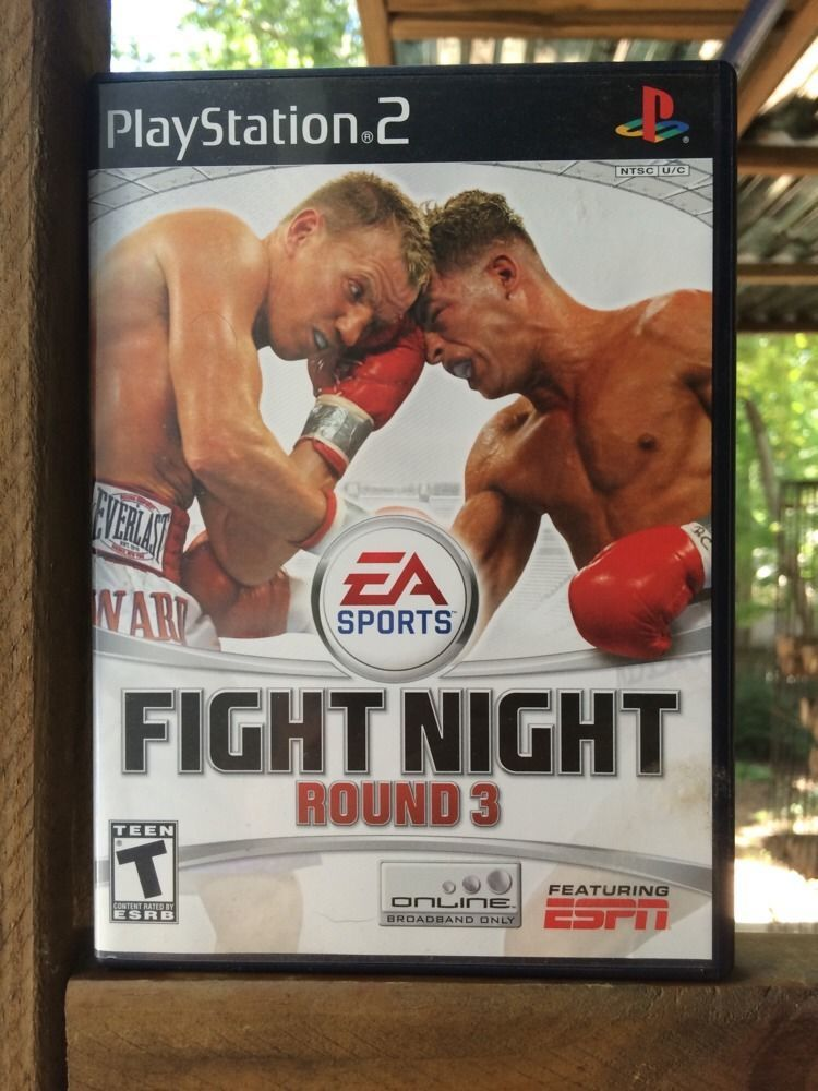 Fight Night Round 3  (Sony PlayStation 2, 2006)