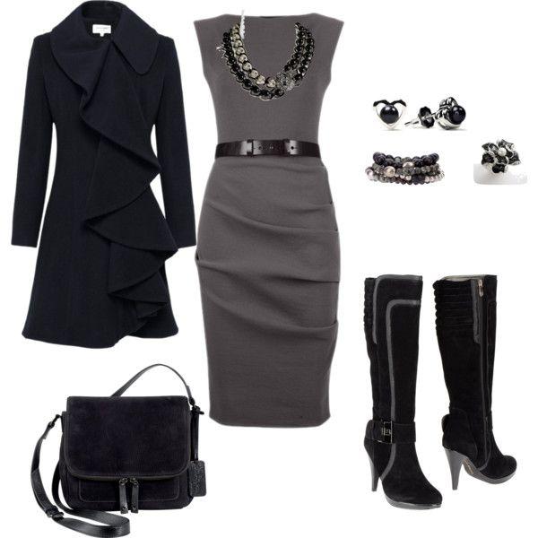 """""""black dress"""" by micheleoc on Polyvore"""
