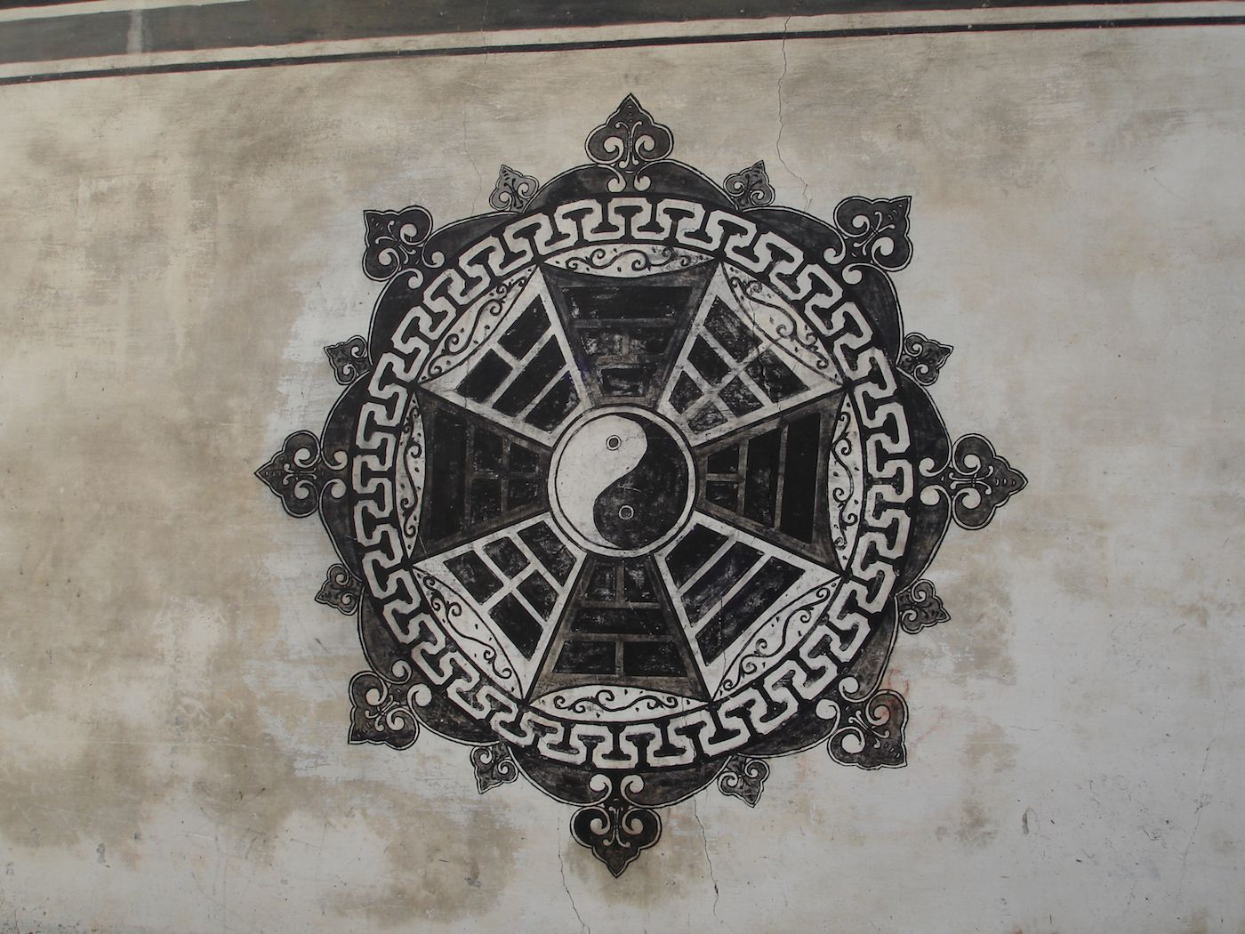 Bagua village zhuge chang le cun yin yang and bagua symbol used for bagua village zhuge chang le cun yin yang and bagua symbol used for the layout of buycottarizona Gallery