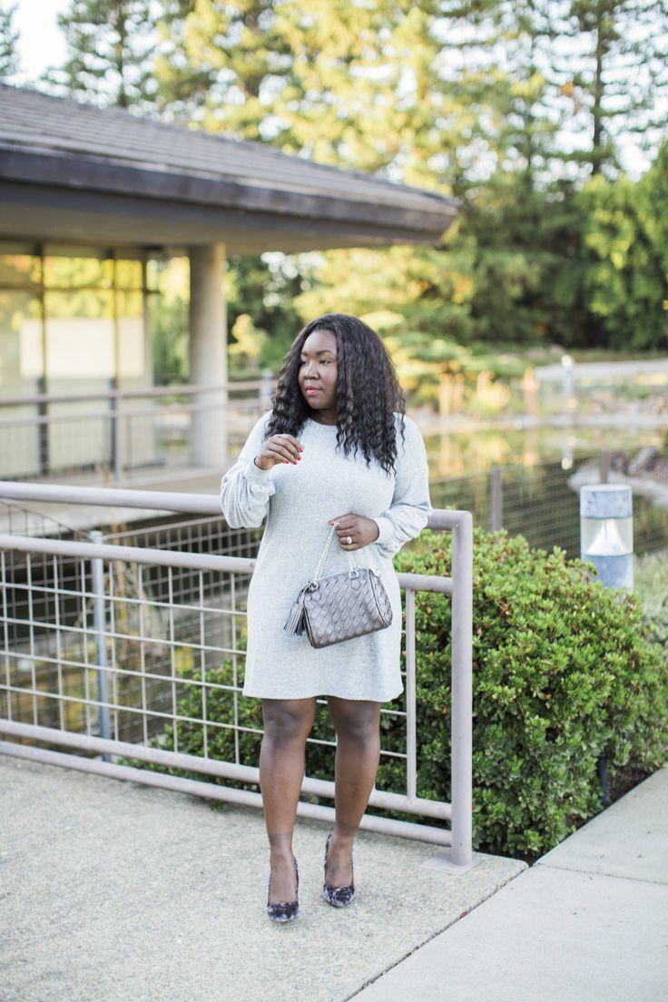 Grey Sweater Dress   Grey sweater dress, Sweat dress, Dresses