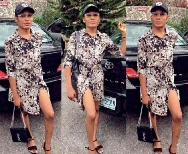 39c182339d Nigerian crossdresser Jay Bugatti storms the internet with interesting  photos Nigerian crossdresser Jay Bugatti storms the internet with  interesting photos ...