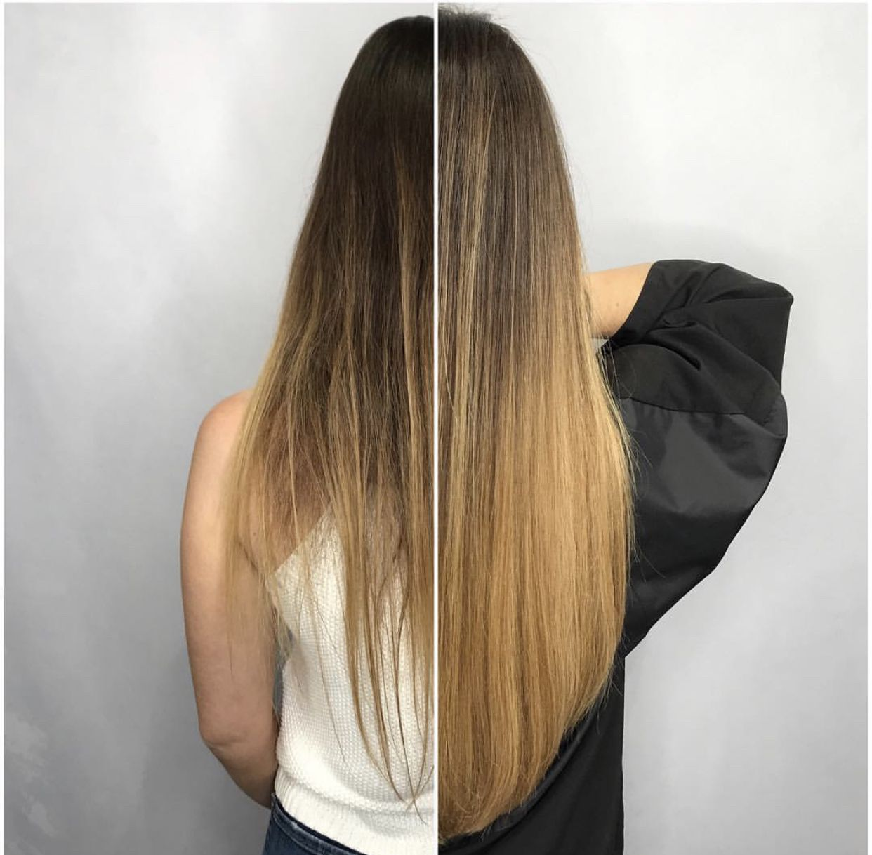 Greatlengths Hair Extensions Fusion Hair Brown Hair Trends Cold Fusion Hair Extensions