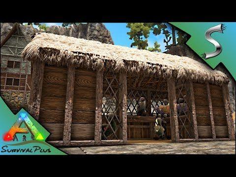 (46) LOG SPIKE WALLS U0026 THE DODO COOP!   Ark: Survival Plus