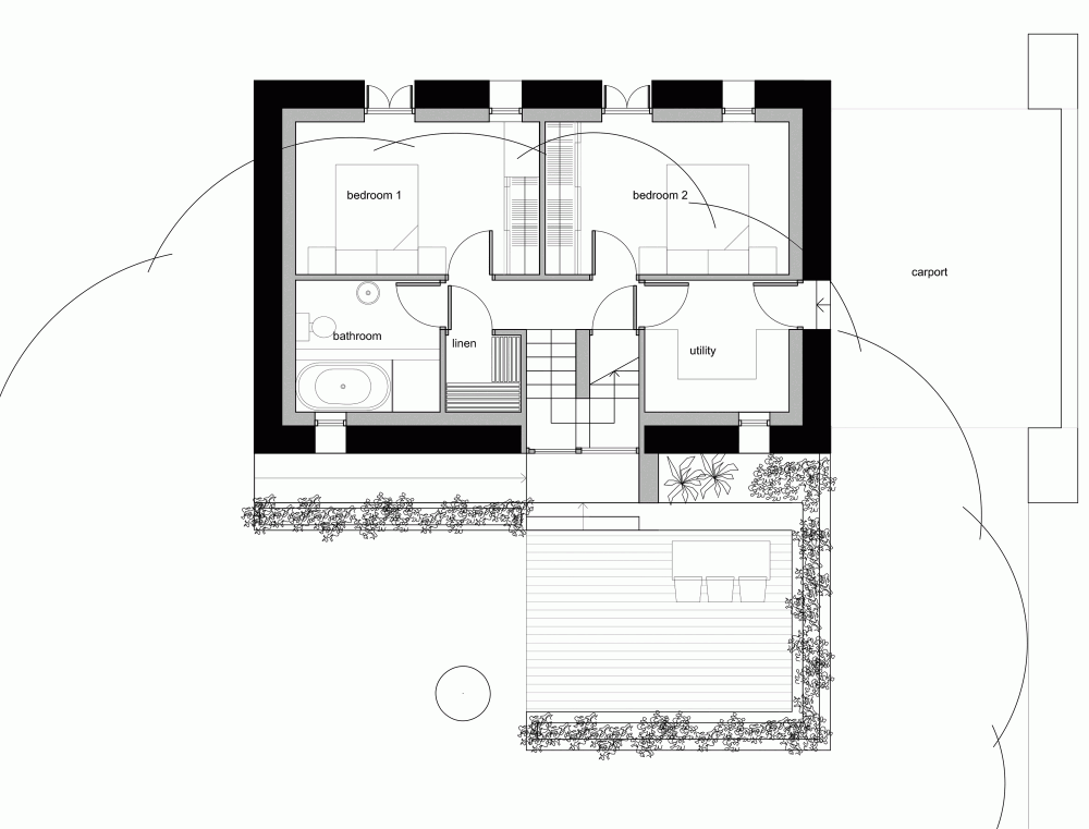 Gallery of Loughloughan Barn McGarryMoon Architects 12 – Stone House Floor Plans