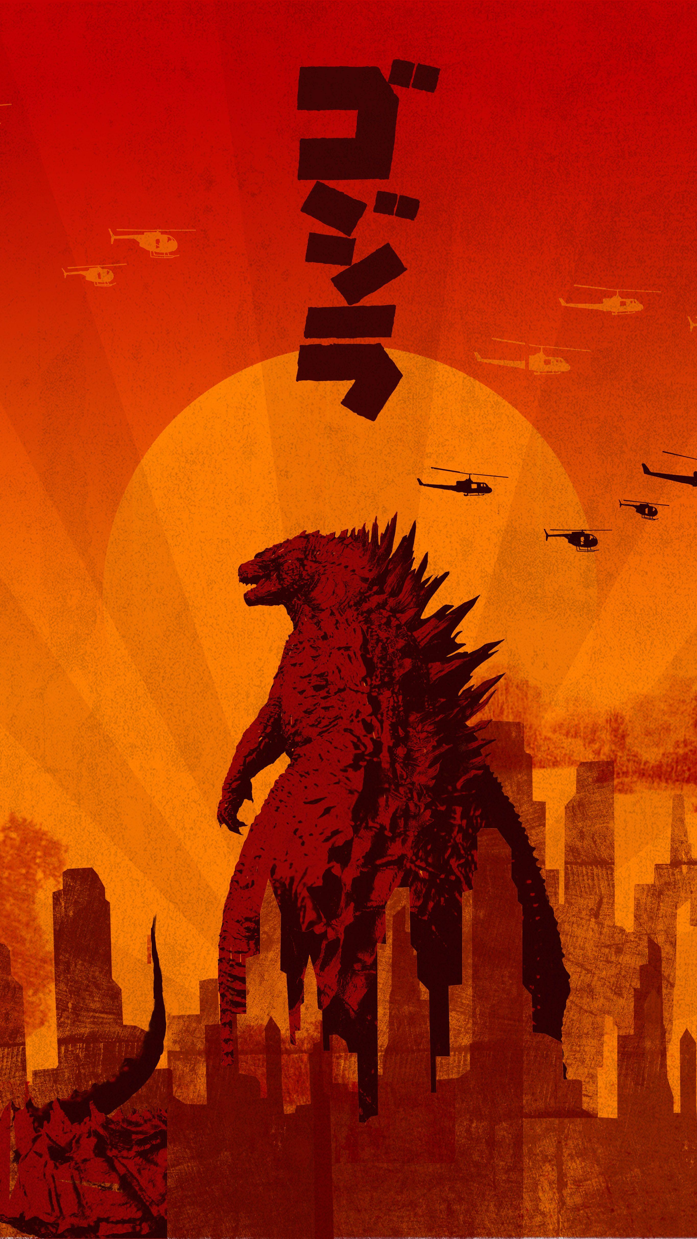 Wallpapers Phone Wallpapers Pt 2 Godzilla Wallpaper Kaiju Art Godzilla