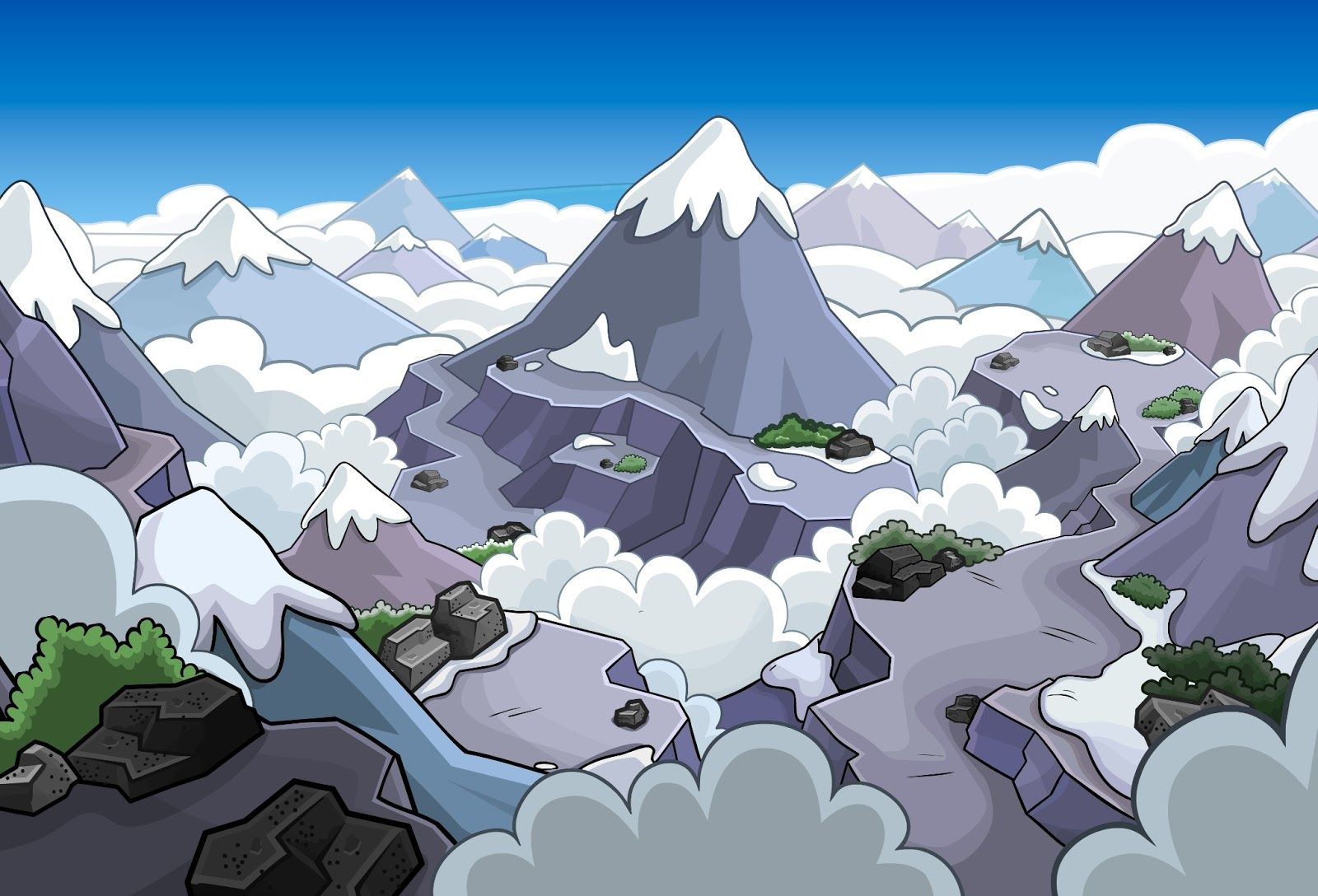 club penguin backgrounds - Google Search | Club Penguin Inspirations ...