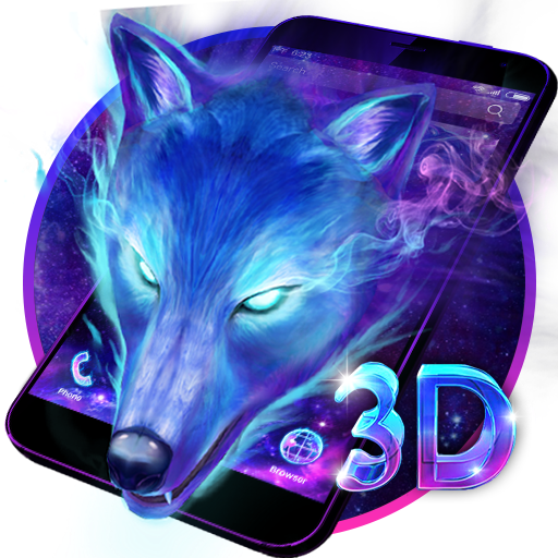 10 Live Wallpaper Anime Wolf 3d Galaxy Wolf Theme Apps