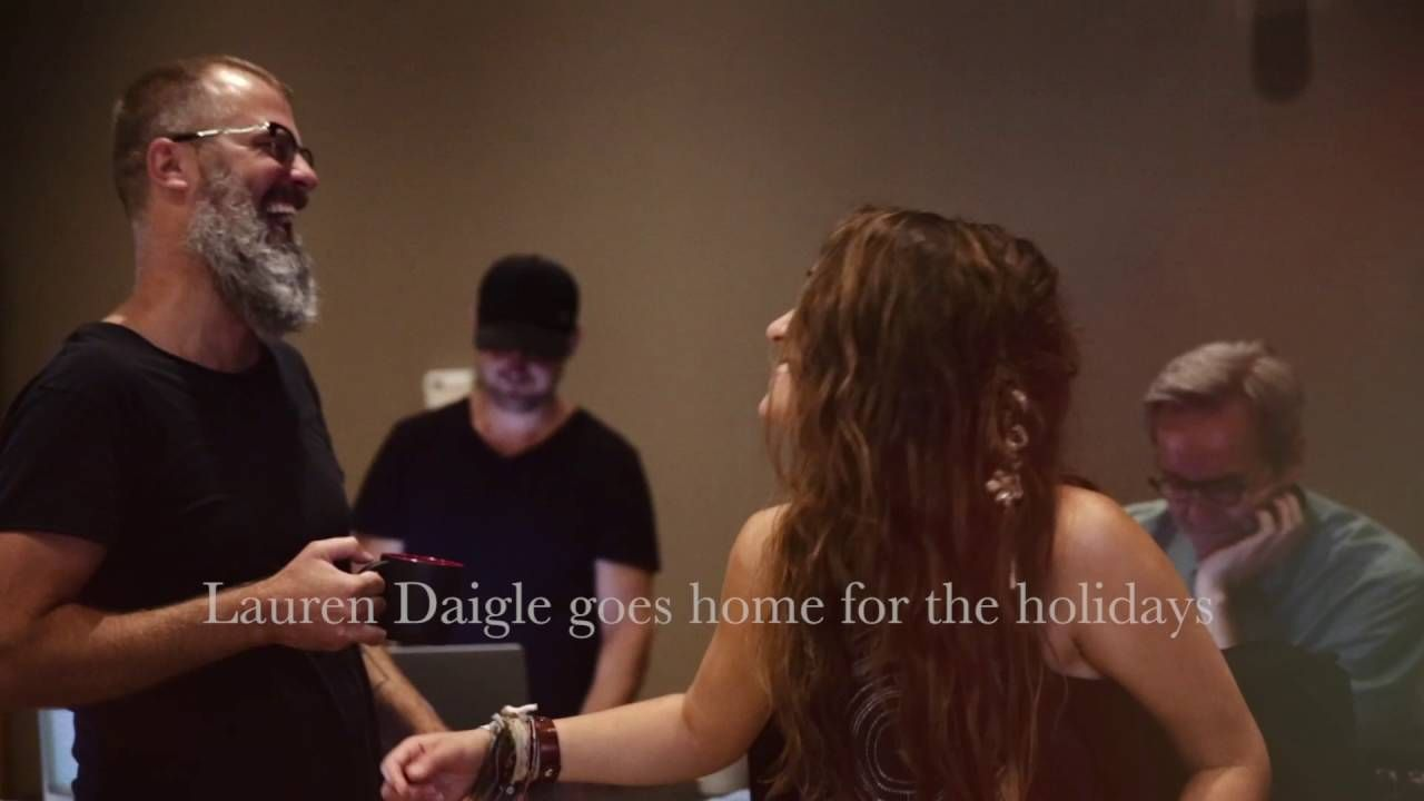 lauren daigle behold album trailer christmas collection laurendaigle