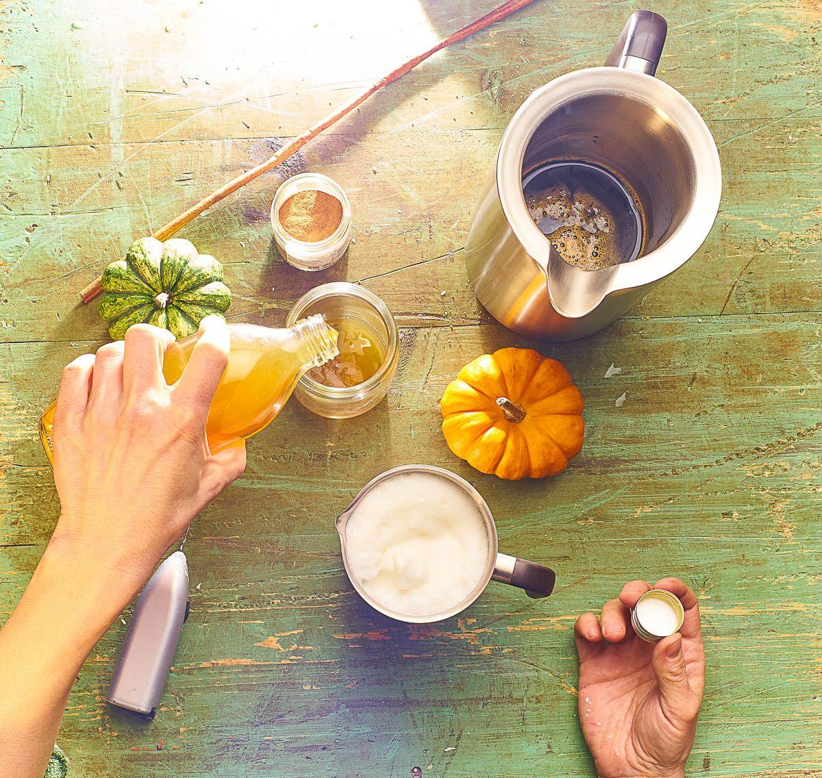 RECEPT: Tekvicové latte
