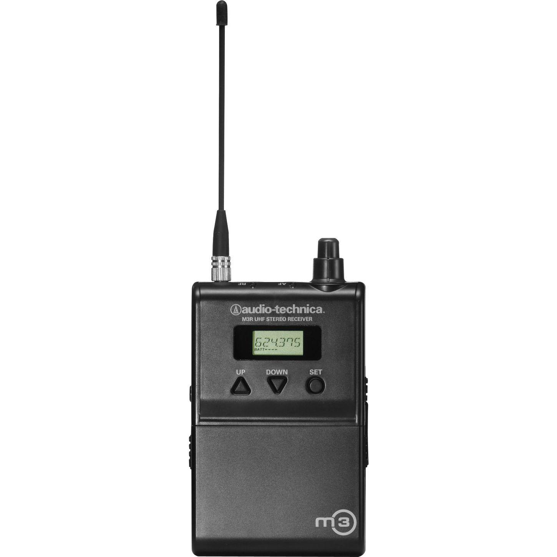 Audio Technica M3rm Bodypack Receiver For M3m Audio Technica Bodypack Audio
