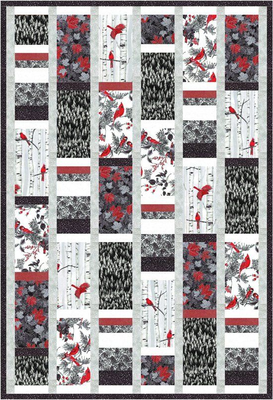 Hoffman Fabrics - Woodsy_black   Projects to Try   Pinterest ... : hoffman free quilt patterns - Adamdwight.com
