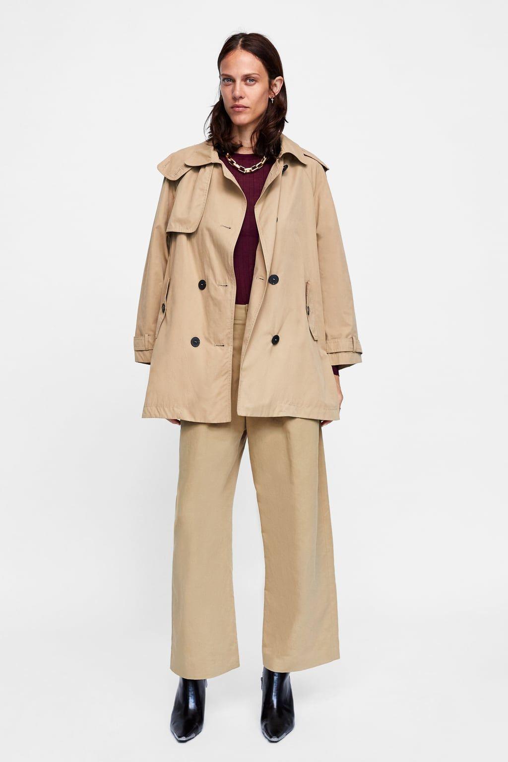 e7c98970 Image 6 of SHORT TRENCH COAT from Zara   Fall/Winter 18'   Short ...