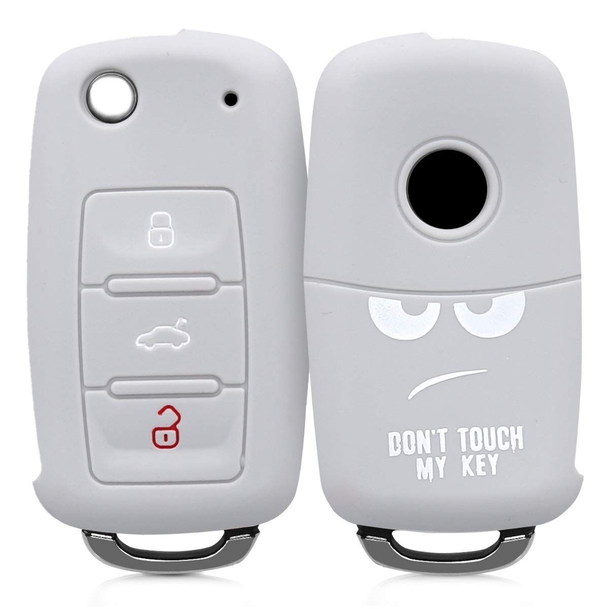 Silicone Protective Key Fob Cover for Honda 3+1 Button Car Key kwmobile Car Key Cover for Honda Blue