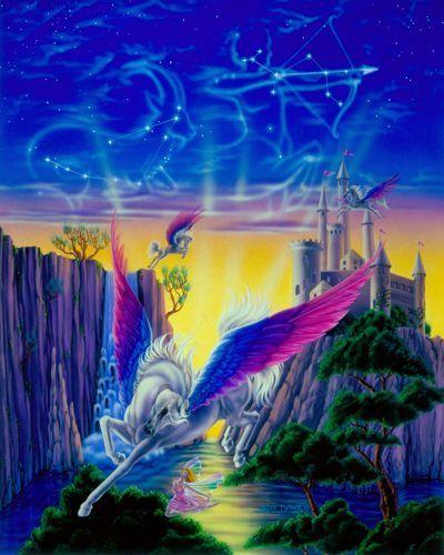 Pegasus Castle by Sue Dawe.