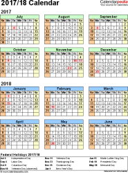 Template  Pdf Template For Split Year Calendar