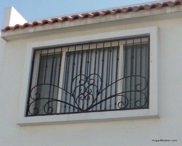 Diseño artístico de ventanas de herreria artesanal para ventanas modernas