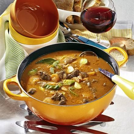 """Photo of """"Burgundy Style"""" Oven Soup Recipe 