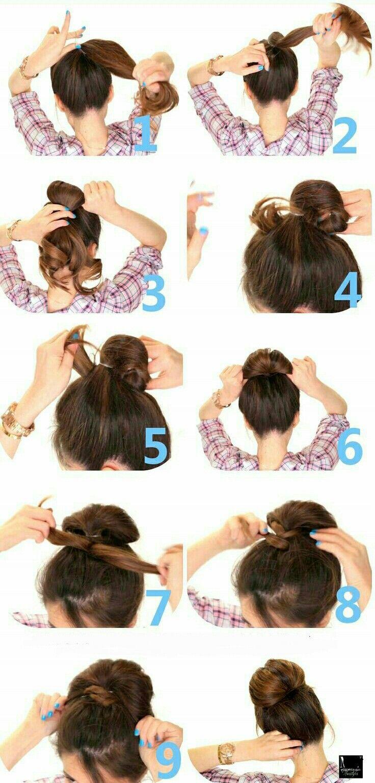 Peinados Recogidos Paso A Paso Hair Pinterest Peinados - Recogidos-sencillos-paso-a-paso
