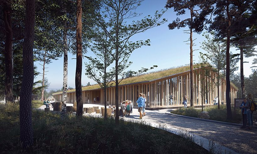 A Museum That Camouflages Into The Norwegian Forest Museum