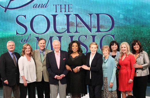 The Sound Of Music On Oprah Julie Andrews Christopher Plummer And The Children Sound Of Music Sound Of Music Movie Beloved Movie