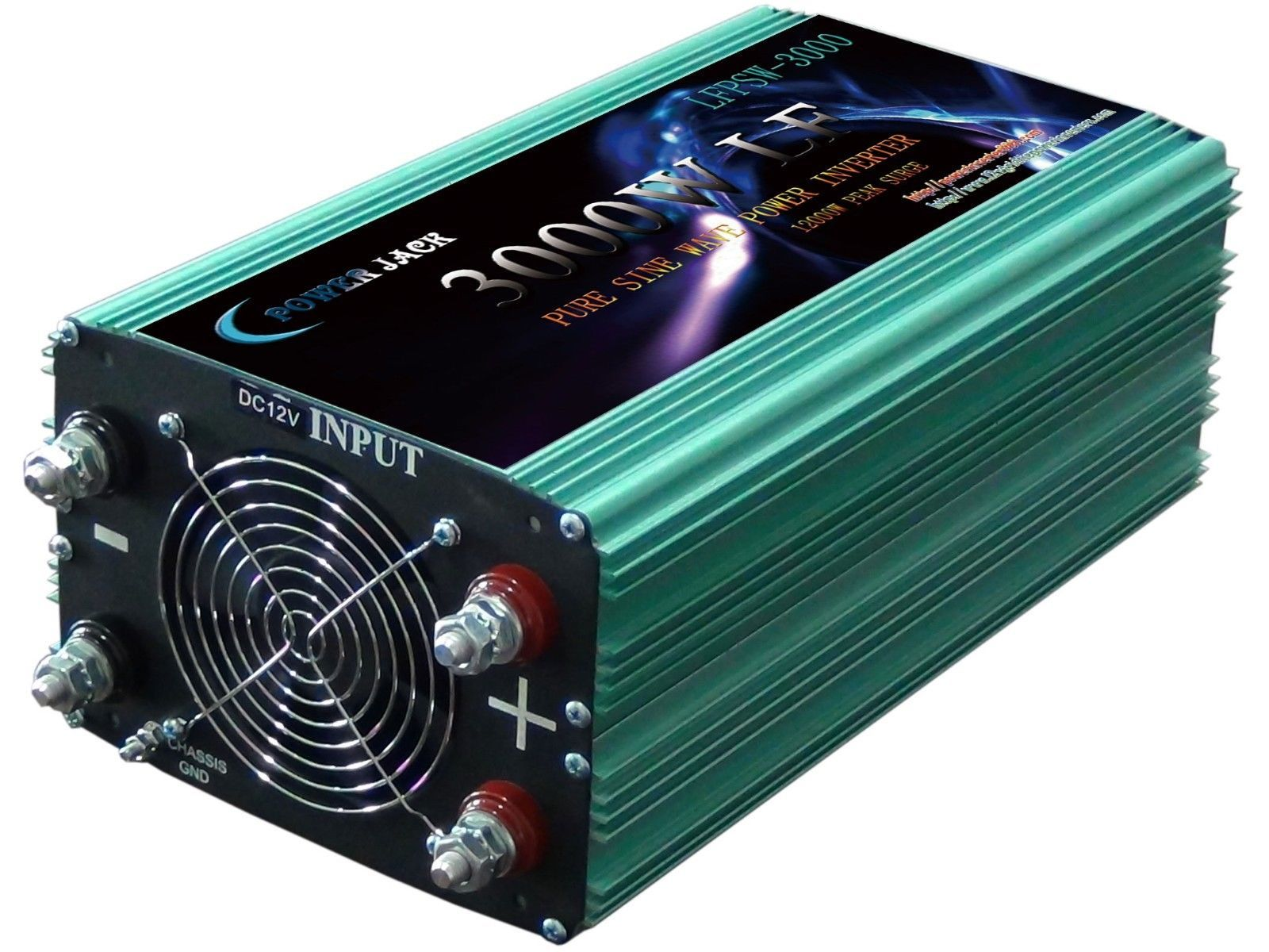 3000W LF pure sine wave power inverter dc12v/ac110v 60HZ