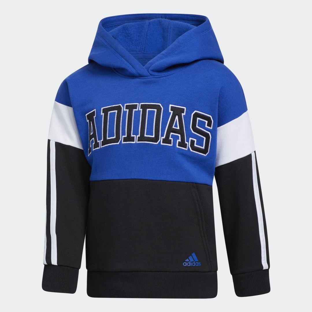 Adidas Core Colorblock Hoodie Blue Adidas Us Hoodies Adidas Bold Blue Adidas [ 1080 x 1080 Pixel ]