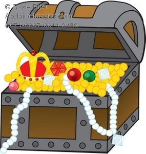 treasure #chest #treasurechest #pirate - Treasure Chest Pirate Clipart ,  Free Transparent Clipart - ClipartKey