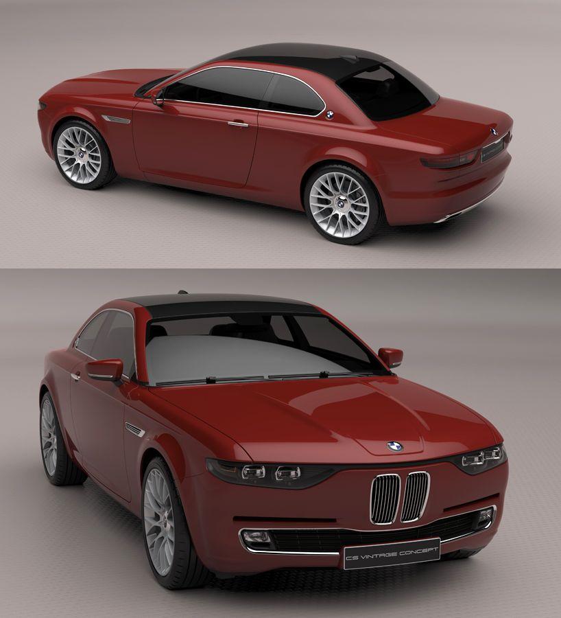 Bmw Cs Vintage Concept Bmw Classic Cars Vintage Concepts
