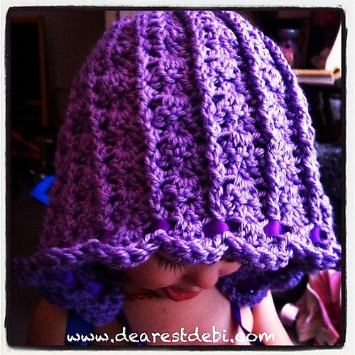 Lady Bella Bonnet Pattern By Debi Dearest Sewingcraftshome