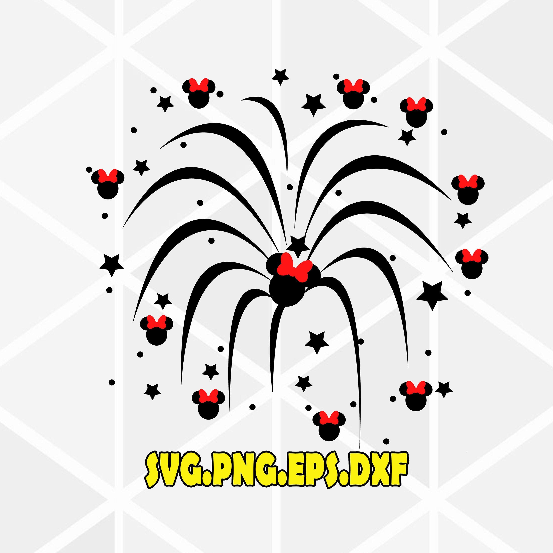 Disney firework svg .Disney SVG . Disneyland SVG . Disney