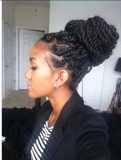 Senegalese twists | Hair | Curly hair styles, Natural hair ...