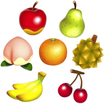 New Leaf Fruit Fruit Animals Animal Crossing Animal Crossing 3ds