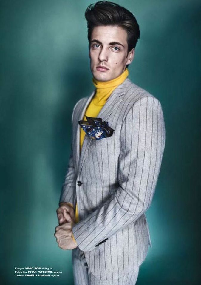 Leo Eller by Jesper Brandt for King Magazine